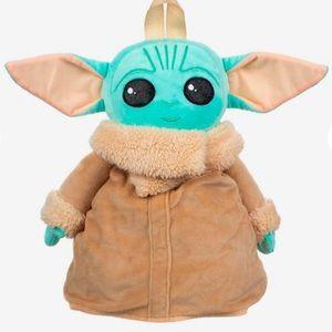 Star Wars The Child Mandalorian plush backpack